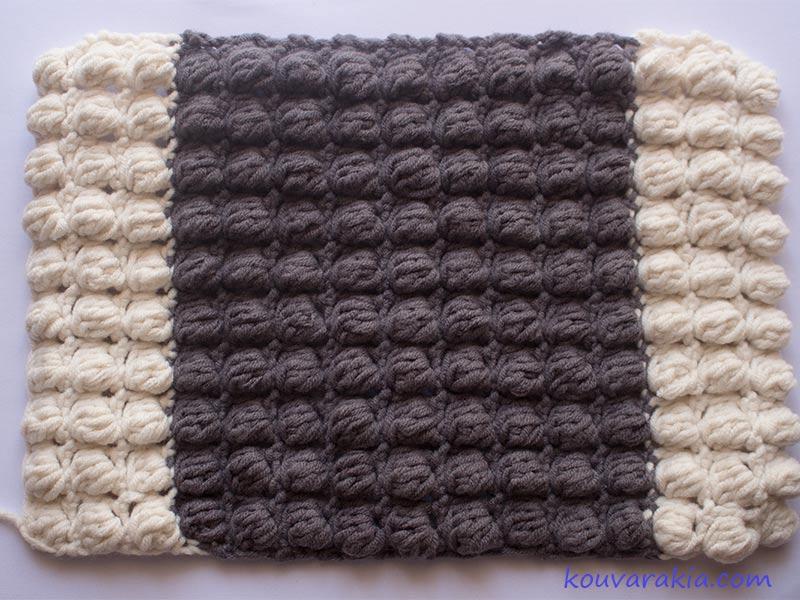 bobble-stitch