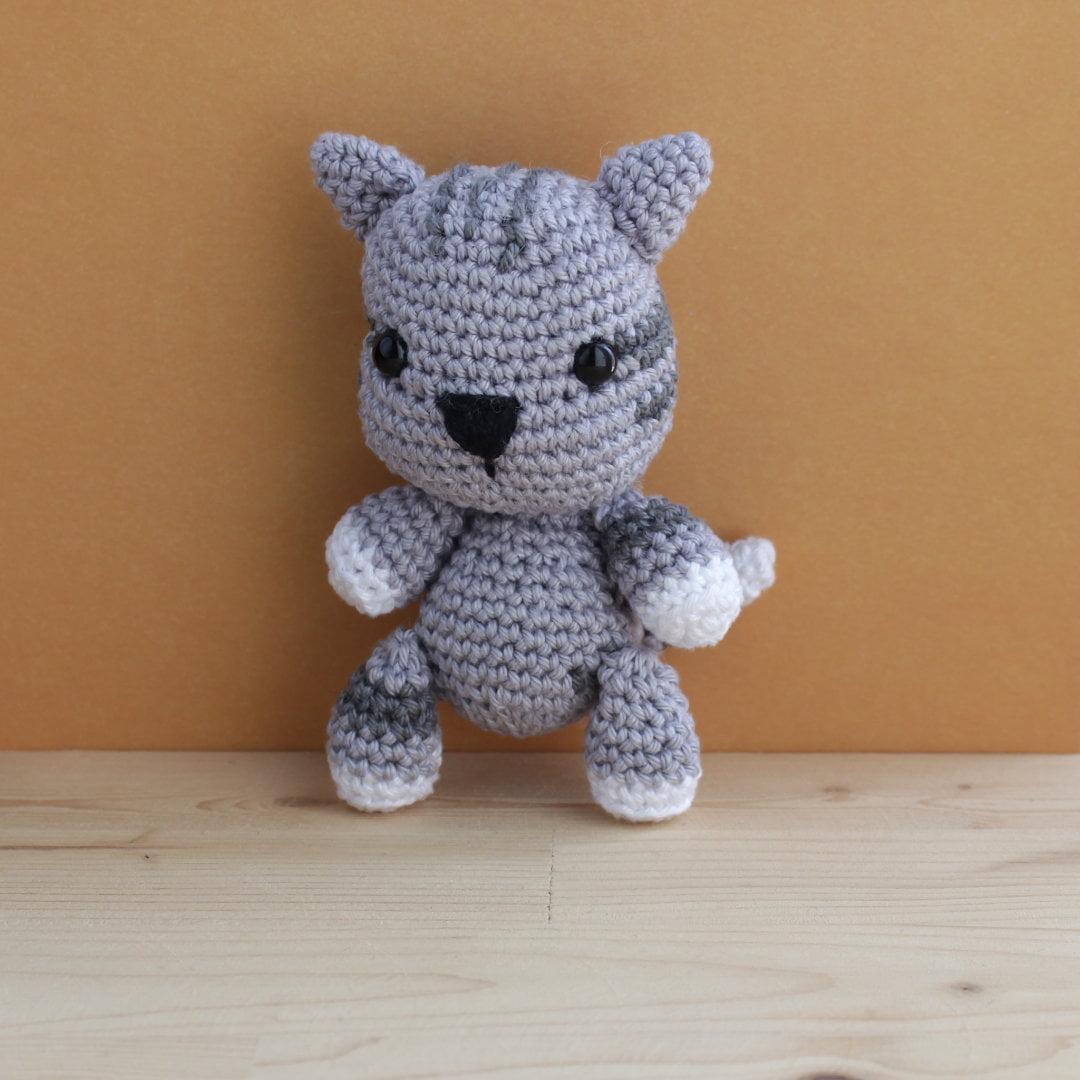βελονάκι amigurumi γάτα