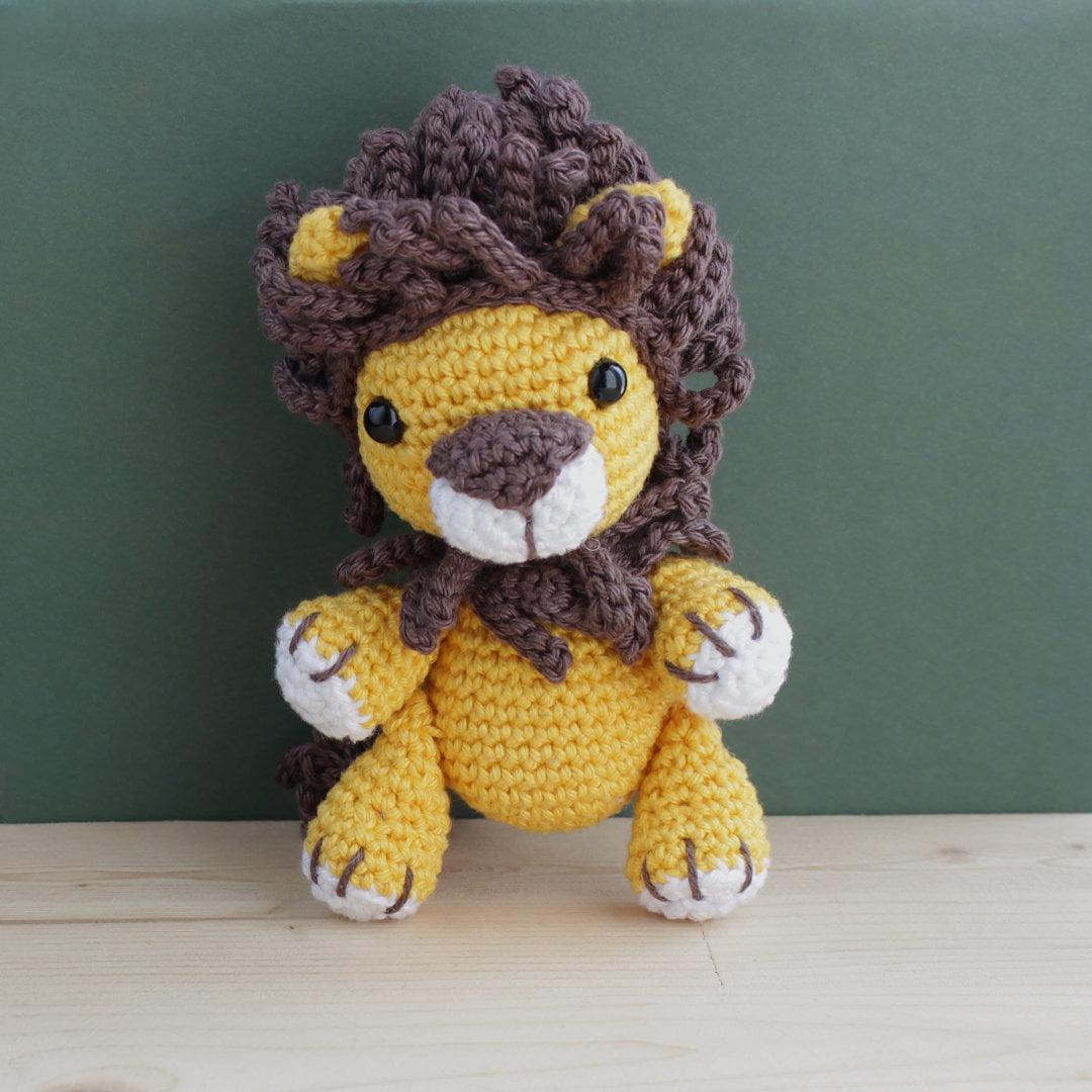 βελονάκι amigurumi λιοντάρι