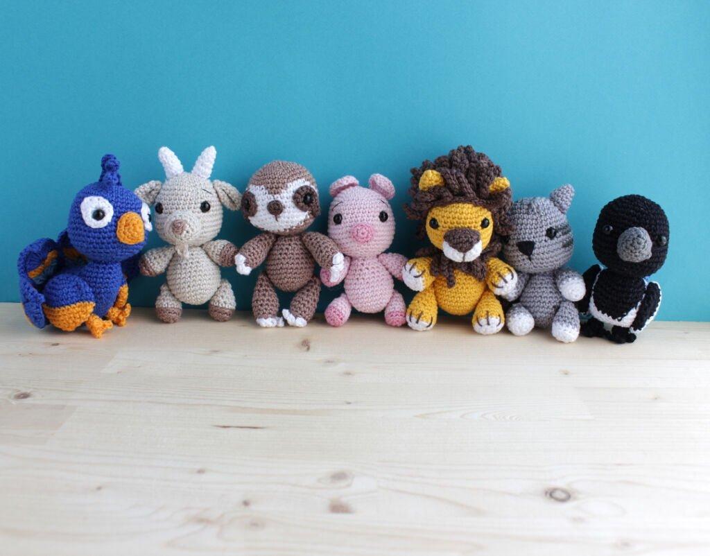 crochet deadly sins amigurumi